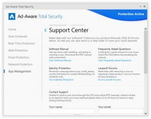 Enlarge Ad-Aware Total Security Screenshot
