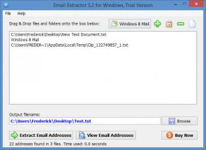 Enlarge Email Extractor Screenshot