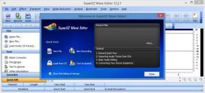 Enlarge SuperEZ Wave Editor Screenshot