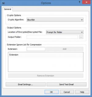 Enlarge MEO Encryption Software Screenshot