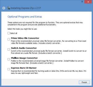 Enlarge Express Zip Screenshot