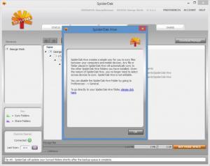 Enlarge SpiderOak Screenshot