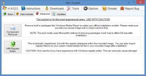 Enlarge Win Toolkit Screenshot