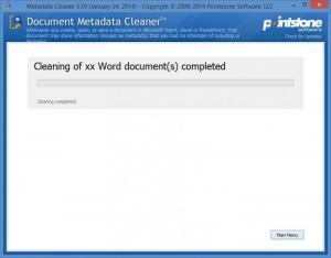 Enlarge Metadata Cleaner Screenshot