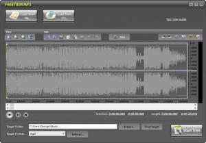 Enlarge FreeTrim MP3 Screenshot