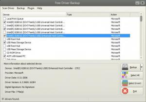 Enlarge Free Driver Backup Screenshot