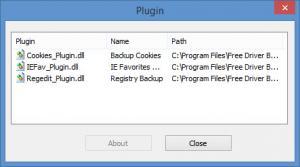 Enlarge Free Driver Backup Screenshot