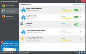 Enlarge Wise Plugin Manager Screenshot