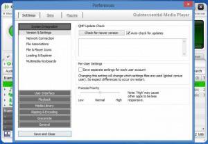 Enlarge Quintessential Media Player Screenshot