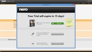 Enlarge Nero Video Screenshot
