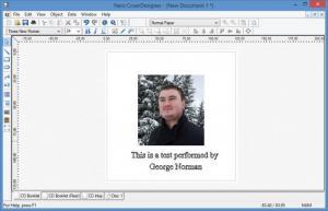 Enlarge Nero CoverDesigner Screenshot