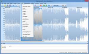Enlarge Nero WaveEditor Screenshot