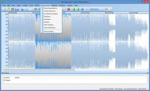 Enlarge Nero WaveEditor Screenshot