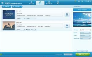 Enlarge Aimersoft Video Converter Screenshot