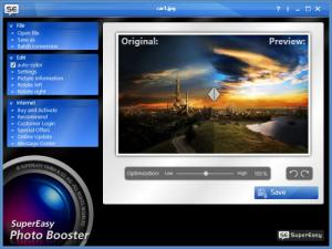 Enlarge SuperEasy Photo Booster Screenshot
