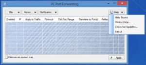 Enlarge PC Port Forwarding Screenshot