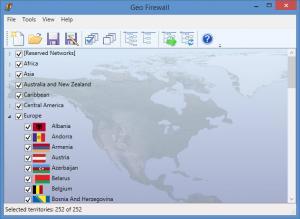 Enlarge Geo Firewall Screenshot