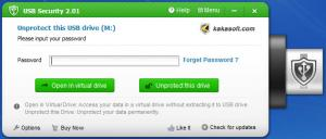 Enlarge Kakasoft USB Security Screenshot