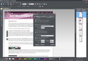Enlarge Xara Web Designer Screenshot