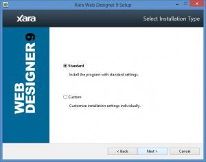 Enlarge Xara Web Designer Screenshot
