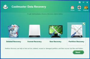 Enlarge Coolmuster Data Recovery Screenshot