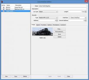 Enlarge iTrain Screenshot