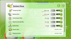 Enlarge PC Bean & Clean Screenshot