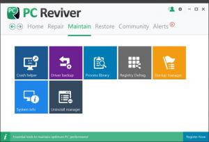 Enlarge PC Reviver Screenshot