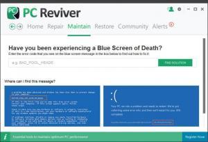 Enlarge PC Reviver Screenshot