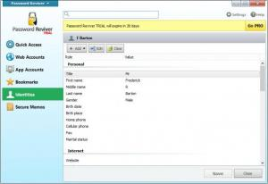 Enlarge Password Reviver Screenshot