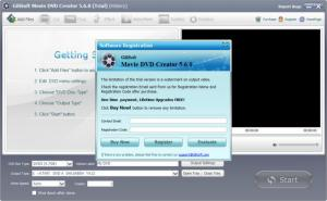 Enlarge GiliSoft Movie DVD Creator Screenshot