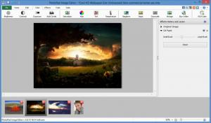 Enlarge PhotoPad Image Editor Screenshot