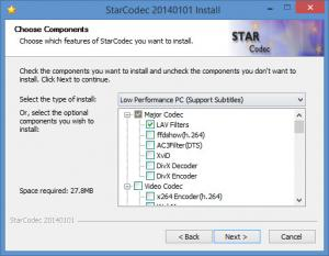Enlarge StarCodec Screenshot