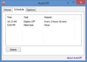 Enlarge AutoOff Screenshot