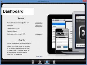 Enlarge Ever Password Screenshot