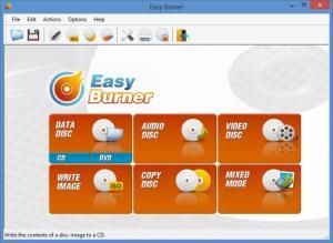 Enlarge Easy Burner Screenshot