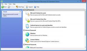 Enlarge Passware Kit Standard Screenshot