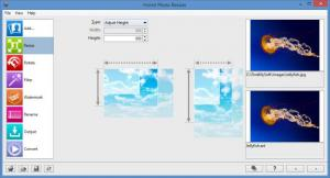 Enlarge Hornil Photo Resizer Screenshot