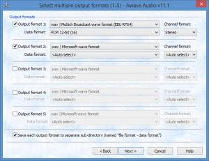 Enlarge Awave Audio Screenshot