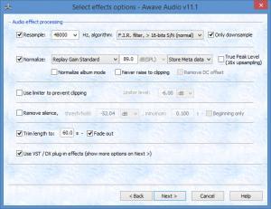 Enlarge Awave Audio Screenshot