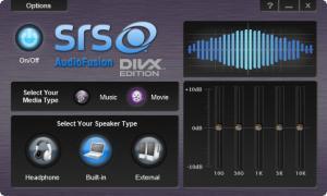 Enlarge SRS AudioFusion Screenshot
