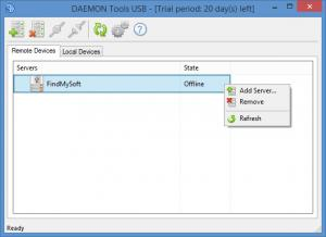 Enlarge DAEMON Tools USB Screenshot