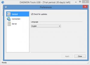 Enlarge DAEMON Tools USB Screenshot