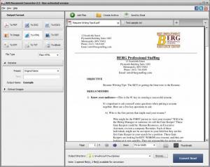 Enlarge AVS Document Converter Screenshot