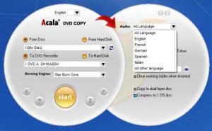 Enlarge Acala DVD Copy Screenshot