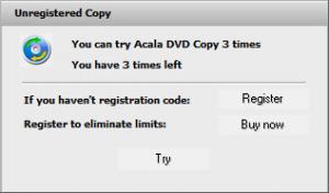 Enlarge Acala DVD Copy Screenshot