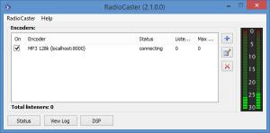 Enlarge RadioCaster Screenshot