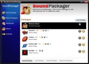 Enlarge SoundPackager Screenshot