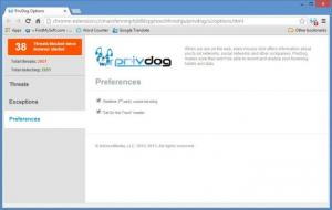 Enlarge PrivDog Screenshot