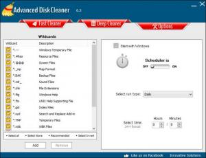 Enlarge Advanced Disk Cleaner Screenshot